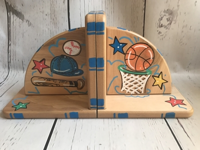 Bookends - Sports - Color | Kids Bookends