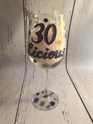 Wine Glass  30 Licious | Wine Glasses