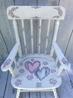 Image Hand Painted Rocking Chairs