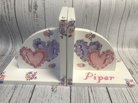 Image Bookends - Hearts