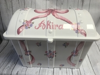 Image Treasure Box - Pink Bow