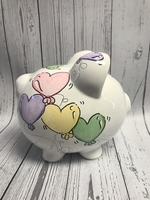 Image Piggy Bank - Heart Balloon