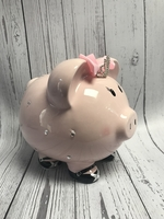 Image Piggy Bank - Pink Tiara Pig