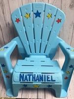 Image Adirondack Chair - Blue Star