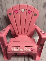 Image Adirondack Chair - Pink Heart