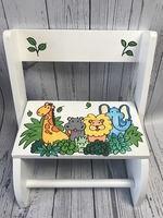 Image Small ~ Flip Stool - Jungle Color