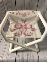 Image Director Chair - Pink Bow Mini