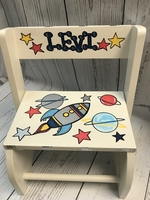 Image Small ~ Flip Stool - Rocket