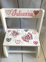 Image Large ~ Flip Stool - Butterflys