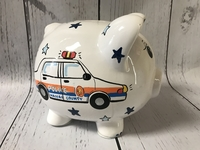 Image Piggy Bank - Police Car