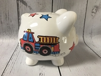 Image Piggy Bank - Fire Engine