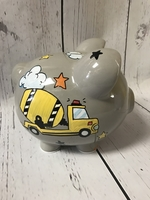 Image Piggy Bank - Cement Mixer