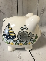 Image Piggy Bank - Sail Boat
