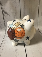 Image Piggy Bank - Sports