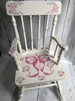Image Rocking Chair - Pink Bow