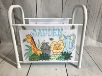 Image Book Basket - Jungle Animals