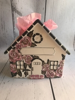 Image Ceramic House -Pink Rose