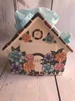 Image Ceramic House- Multi Floral