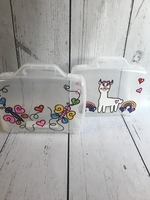 Image Lg Tote Boxes/Girls Asst