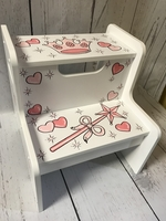 Image Two Step Stool - Princess
