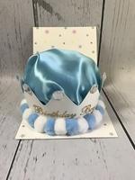 Image Bithday Hat - Light Blue Crown