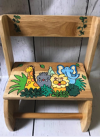 Image Small ~ Flip Stools - Natural Jungle