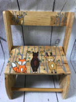 Image Small ~ Flip Stools - Natural Woodland Animals