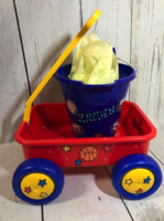 Image Small Pull Wagon  With Bucket -  Sports