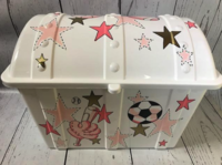 Image Treasure Box - Girls Sports Pink & Gold