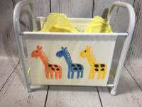 Image Book Basket -Giraffes