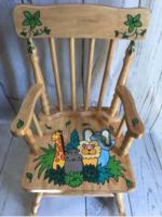 Image Rocking Chair / Jungle