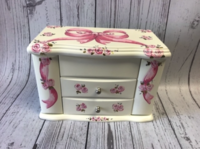 Image Jewelry Box -  Two Drawer Bow