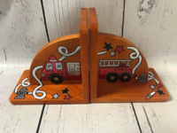 Image Bookends - Honey / Fire Truck