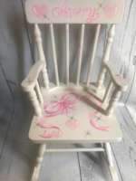 Image Rocking Chairs / Soft Ribbon with hearts