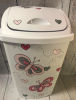 Image Hamper  / Butterflys  pinks / grey