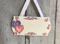 Image Door Signs /  Double Hearts
