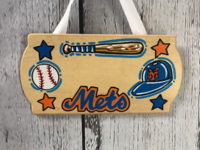 Image Door Signs /  Baseball