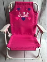 Image Beach Chair With Umbrella / Hearts