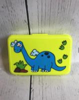 Image Crayon Box - Blue Dino