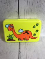Image Crayon Box - Orange Dino