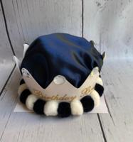 Image Birthday Hat  - Dark Blue Crown