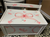 Image Large Toy Box Soft Ribbon