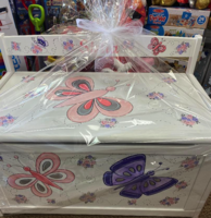 Image Large Toy Box Butterflies