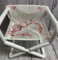 Image Mini Director Chair - Soft Ribbon