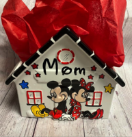 Image Ceramic House - Mickey & Minnie