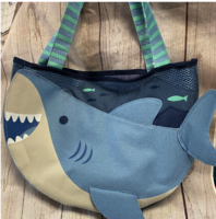 Image Beach Bag w/ Sand Toys  Shark # 2