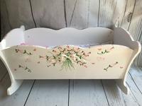 Image Doll Cradle - Floral