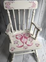 Image Rocking Chair /Ribbon