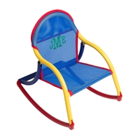 Image Mesh Rocking Chair - Blue Mesh